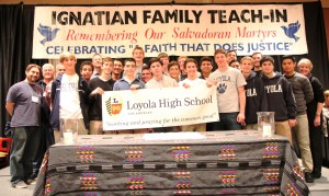 Loyola High School - Ignatian Family Teach-In for Justice
