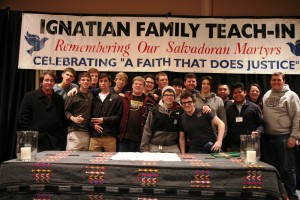 St. Peter's Preparatory School Attends the Ignatian Family Teach-In for Justice