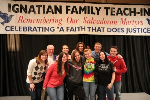 Wheeling Jesuit at the Ignatian Family Teach-In for Justice