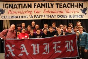 Xavier High School - Ignatian Family Teach-In for Justice